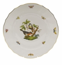 "Herend Rothschild Bird Dinner Plate - Motif 02 10.5""D"