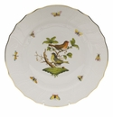 "Herend Rothschild Bird Dinner Plate - Motif 03 10.5""D"