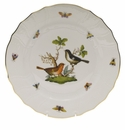 "Herend Rothschild Bird Dinner Plate - Motif 05 10.5""D"