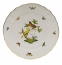 "Herend Rothschild Bird Dinner Plate - Motif 06 10.5""D"