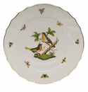"Herend Rothschild Bird Dinner Plate - Motif 08 10.5""D"