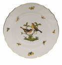 "Herend Rothschild Bird Dinner Plate - Motif 09 10.5""D"