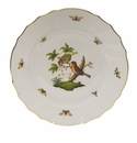 "Herend Rothschild Bird Dinner Plate - Motif 10 10.5""D"