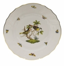 "Herend Rothschild Bird Dinner Plate - Motif 11 10.5""D"