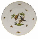 "Herend Rothschild Bird Dinner Plate - Motif 12 10.5""D"