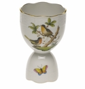 "Herend Rothschild Bird Double Egg Cup  4""H"
