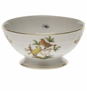 "Herend Rothschild Bird Footed Bowl 5""D X 2.5""H"