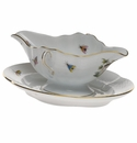 Herend Rothschild Bird Gravy Boat With Fixed Stand  0.75