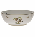 "Herend Rothschild Bird Large Bowl 11""D"