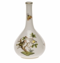 "Herend Rothschild Bird Medium Bud Vase 5.25""H"