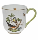 "Herend Rothschild Bird Mug - Motif 02 (10 Oz) 3.5""H"