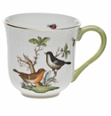 "Herend Rothschild Bird Mug - Motif 05 (10 Oz) 3.5""H"