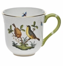 "Herend Rothschild Bird Mug - Motif 07 (10 Oz) 3.5""H"