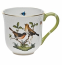 "Herend Rothschild Bird Mug - Motif 09 (10 Oz) 3.5""H"