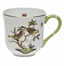 "Herend Rothschild Bird Mug - Motif 11 (10 Oz) 3.5""H"