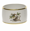 "Herend Rothschild Bird Napkin Ring  2.25""D"