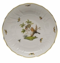 "Herend Rothschild Bird Open Vegetable Bowl  10.5""D"
