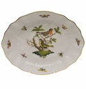 "Herend Rothschild Bird Oval Dish  8.25""L X 6.75""W"