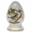 Herend Rothschild Bird Pepper Shaker Single Hole  2.5