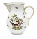 "Herend Rothschild Bird Pitcher (60 Oz) 7.75""H"
