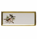 "Herend Rothschild Bird Place Card - Motif 05 3.75""L"