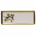 "Herend Rothschild Bird Place Card - Motif 08 3.75""L"