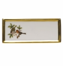 "Herend Rothschild Bird Place Card - Motif 10 3.75""L"