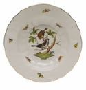 "Herend Rothschild Bird Rim Soup - Motif 04 9.5""D"