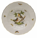 "Herend Rothschild Bird Rim Soup - Motif 08 9.5""D"
