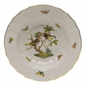 "Herend Rothschild Bird Rim Soup - Motif 11 9.5""D"