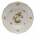 "Herend Rothschild Bird Rim Soup Plate - Motif 06 8""D"