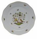 "Herend Rothschild Bird Round Platter  13.75""D"