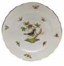 "Herend Rothschild Bird Salad Plate - Motif 01 7.5""D"