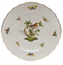 "Herend Rothschild Bird Salad Plate - Motif 03 7.5""D"