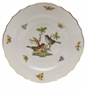 "Herend Rothschild Bird Salad Plate - Motif 05 7.5""D"
