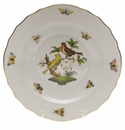 "Herend Rothschild Bird Salad Plate - Motif 06 7.5""D"