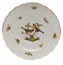 "Herend Rothschild Bird Salad Plate - Motif 09 7.5""D"