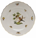 "Herend Rothschild Bird Salad Plate - Motif 10 7.5""D"