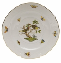 "Herend Rothschild Bird Salad Plate - Motif 11 7.5""D"