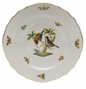 "Herend Rothschild Bird Salad Plate - Motif 12 7.5""D"