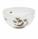 "Herend Rothschild Bird Small Bowl 3""H X 5.75""D"