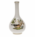 "Herend Rothschild Bird Small Bud Vase 3.5""H"