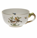 Herend Rothschild Bird Tea Cup  (8 Oz)