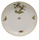 "Herend Rothschild Bird Tea Saucer  6""D"