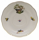 "Herend Rothschild Bird Tea Saucer - Motif 02 6""D"