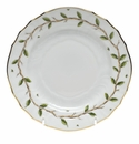 "Herend Rothschild Garden Bread & Butter Plate 6""D"
