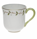 "Herend Rothschild Garden Mug (10 Oz) 3.5""H"