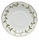 "Herend Rothschild Garden Tea Saucer 6""D"