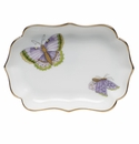 "Herend Royal Garden Mini Scalloped Tray 4.25""L"
