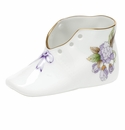 "Herend Royal Garden ""S"" Baby Shoe - Royal Garden Limited Edition"